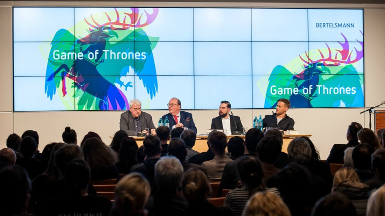 Der Game-of-Thrones-Abend in Unter den Linden 1, April 2015